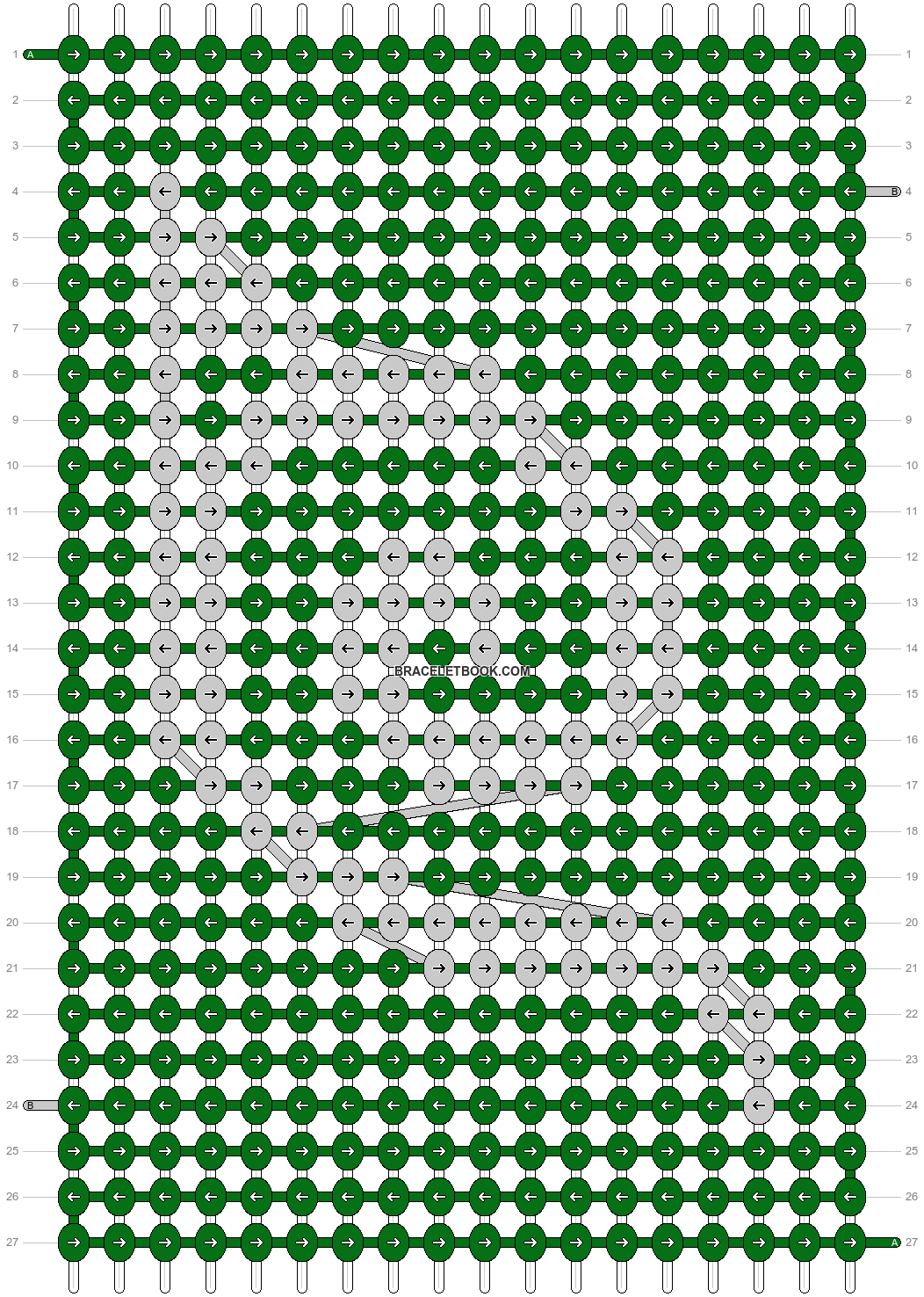 Alpha pattern #30538 pattern
