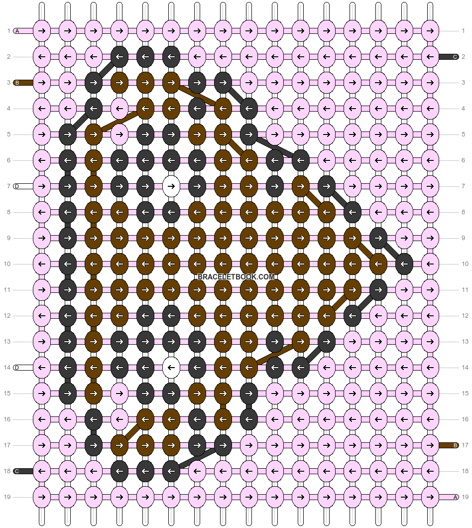 Alpha pattern #30546 pattern