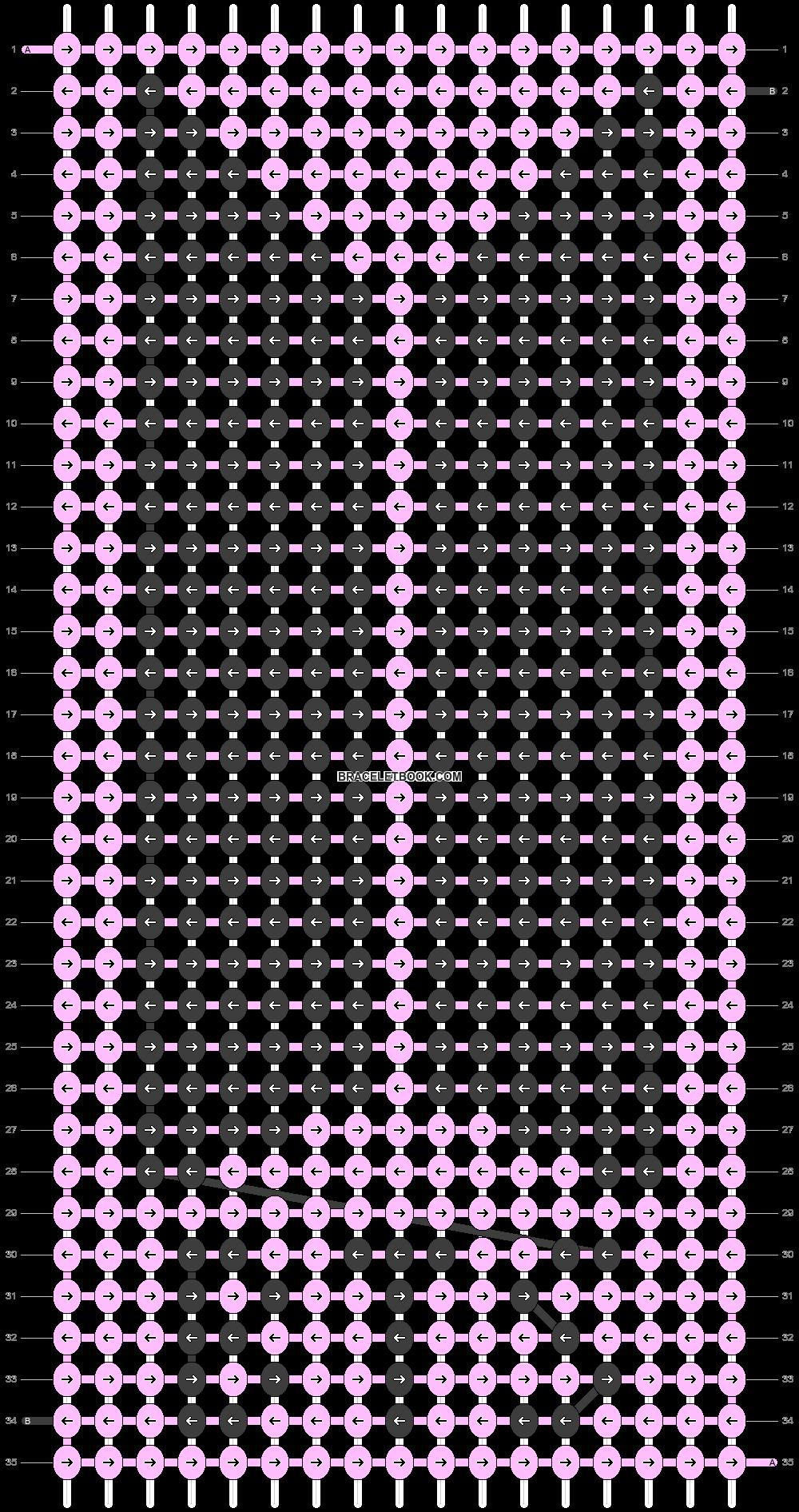 Alpha pattern #30548 pattern