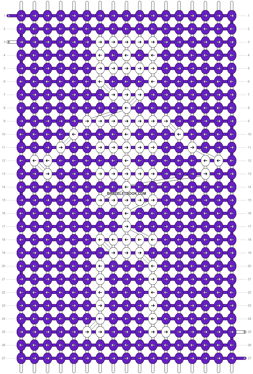 Alpha pattern #30552 pattern