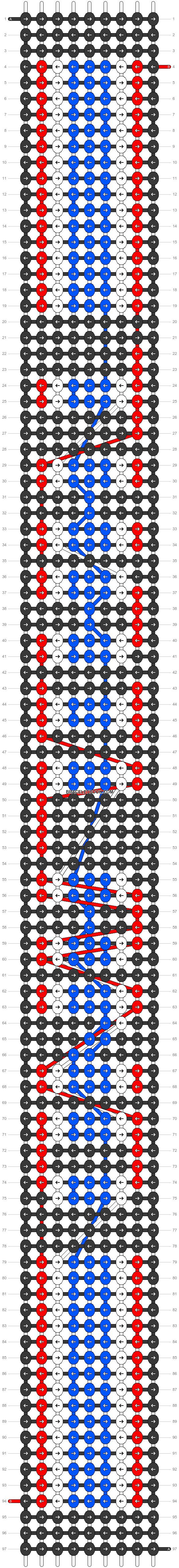 Alpha pattern #30553 pattern