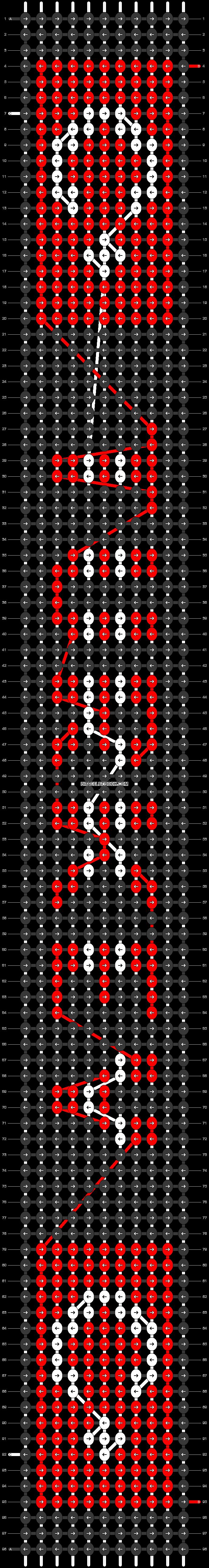 Alpha pattern #30554 pattern