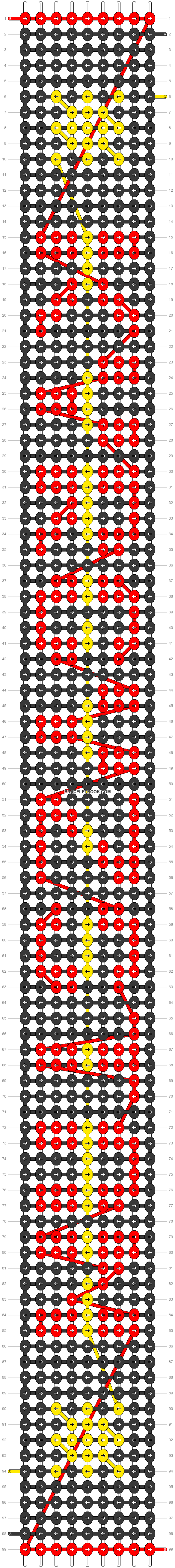 Alpha pattern #30555 pattern