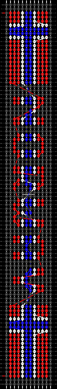 Alpha pattern #30556 pattern