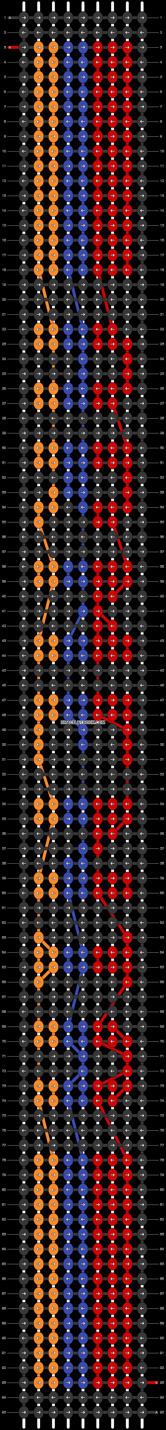 Alpha pattern #30558 pattern