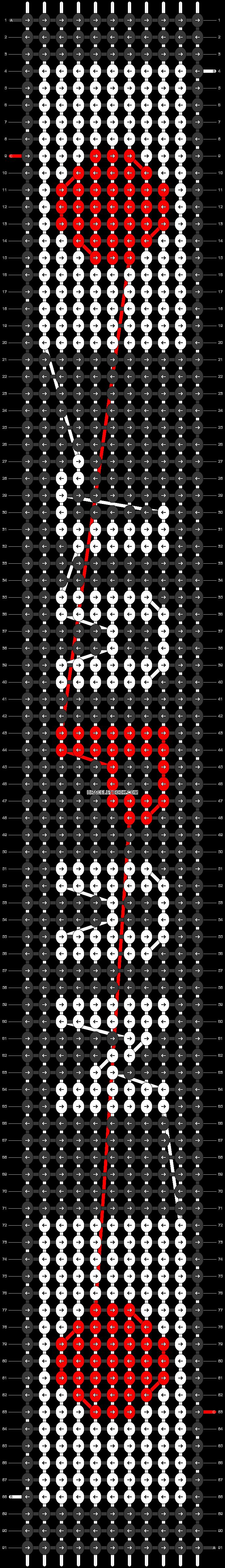 Alpha pattern #30562 pattern