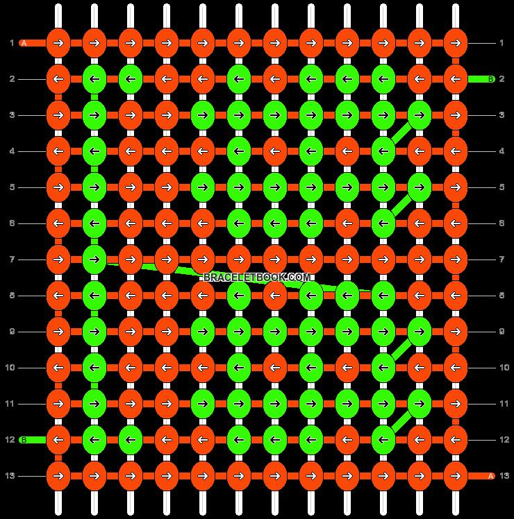 Alpha pattern #30566 pattern
