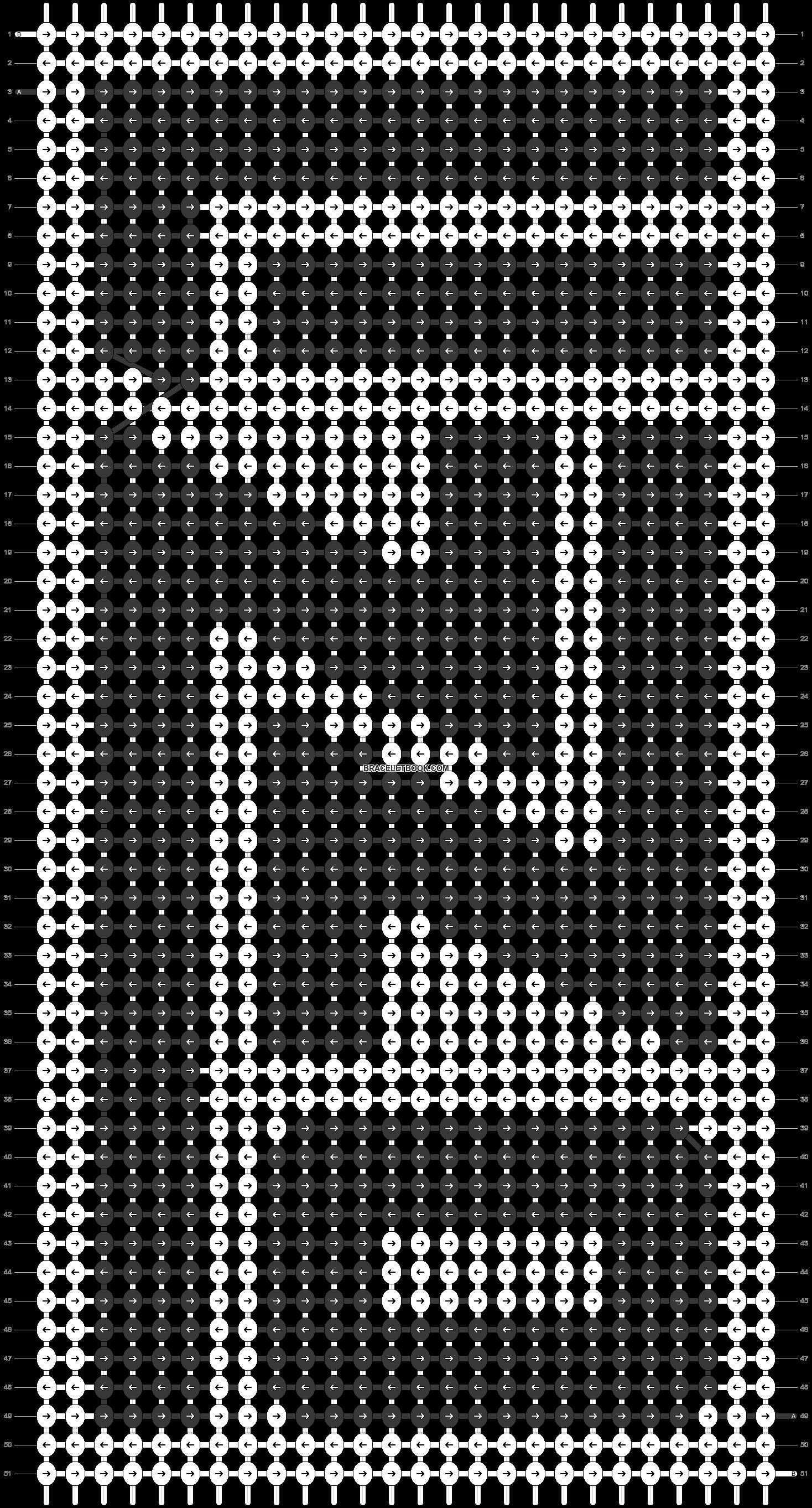 Alpha pattern #30588 pattern