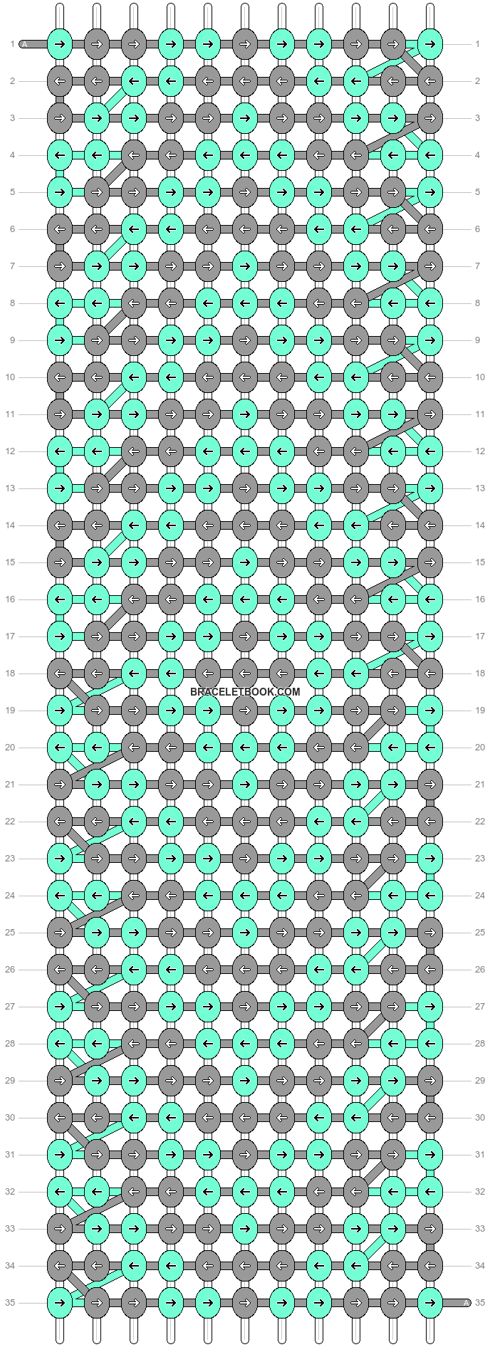 Alpha pattern #30598 pattern