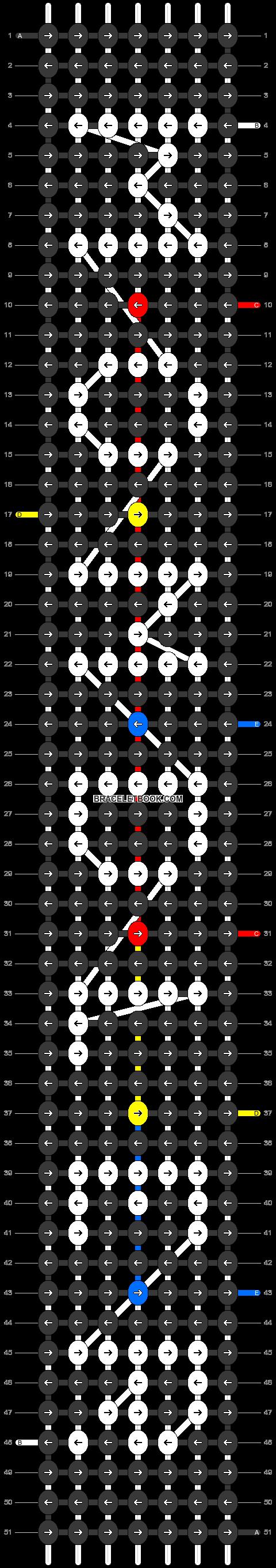 Alpha pattern #30620 pattern
