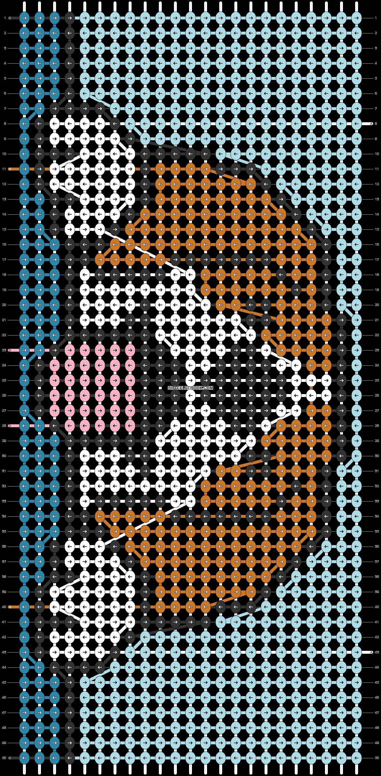 Alpha pattern #30629 pattern