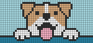 Alpha pattern #30633