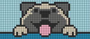 Alpha pattern #30637