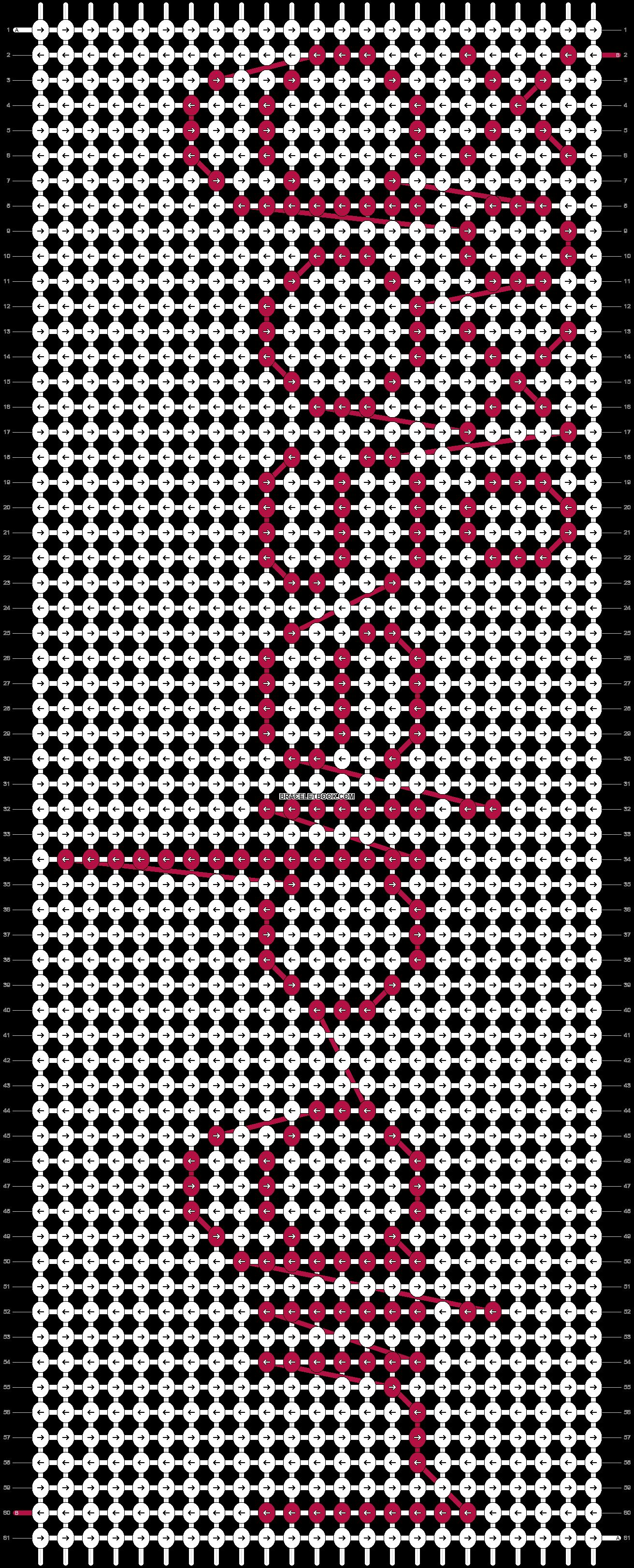 Alpha pattern #30670 pattern