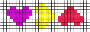 Alpha pattern #30681