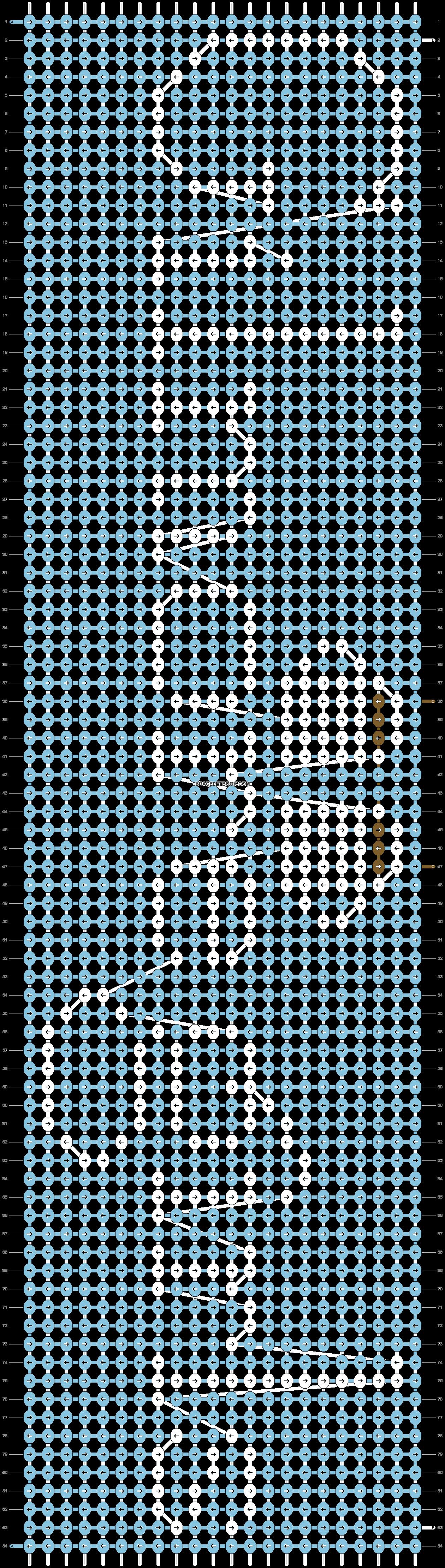 Alpha pattern #30686 pattern