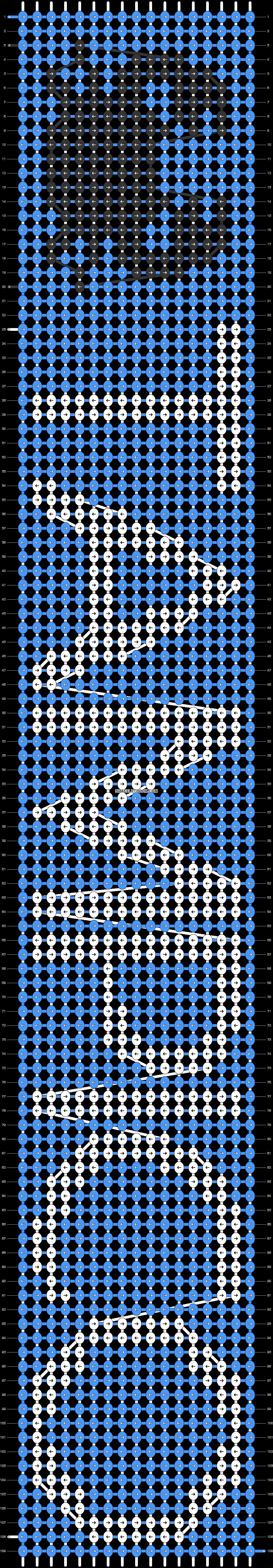 Alpha pattern #30689 pattern