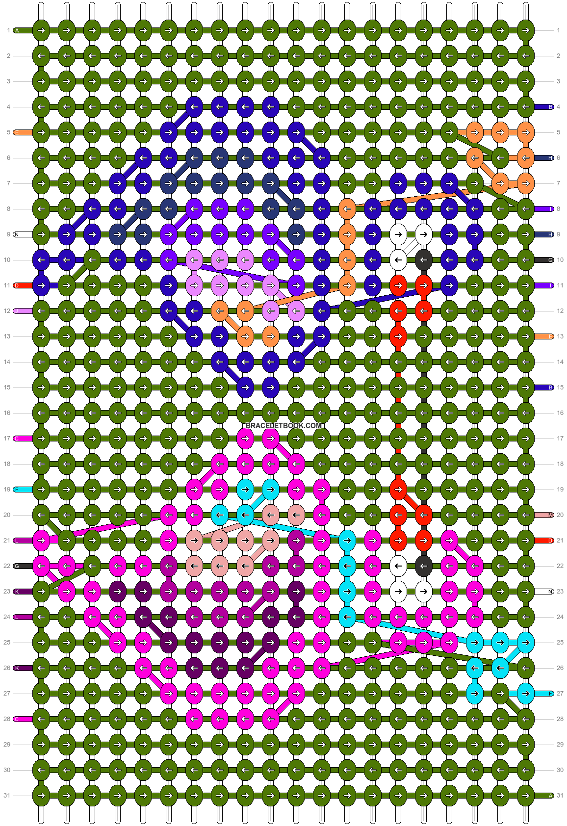 Alpha pattern #30690 pattern
