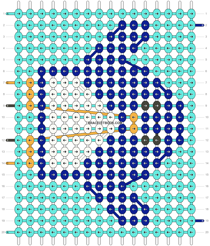 Alpha pattern #30723 pattern
