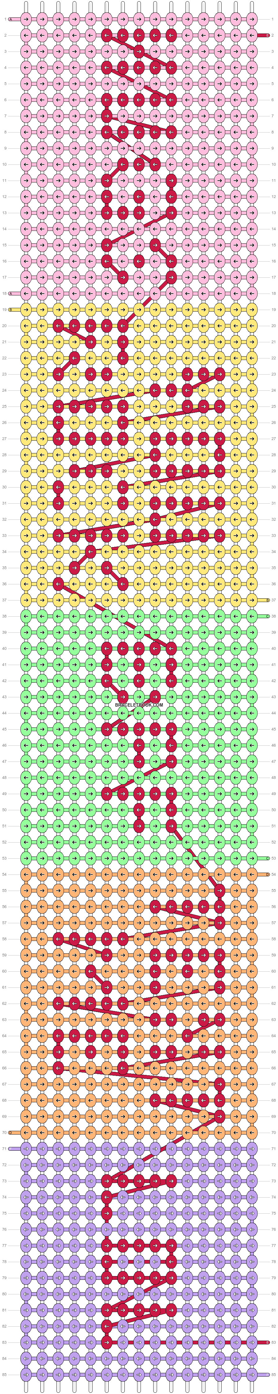 Alpha pattern #30725 pattern