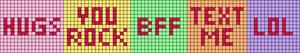 Alpha pattern #30725