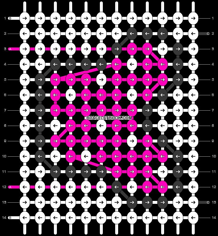 Alpha pattern #30738 pattern