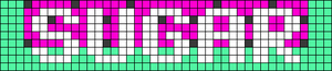 Alpha pattern #30741