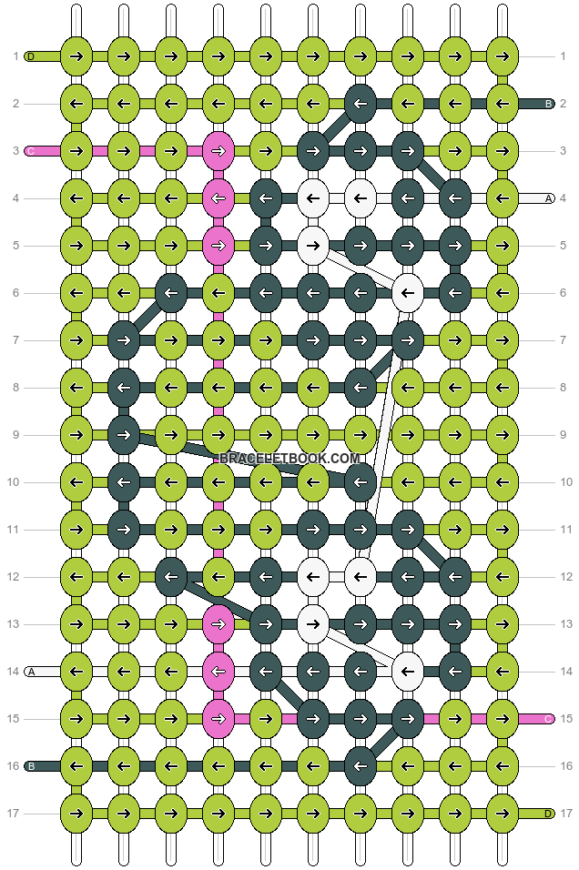 Alpha pattern #30754 pattern