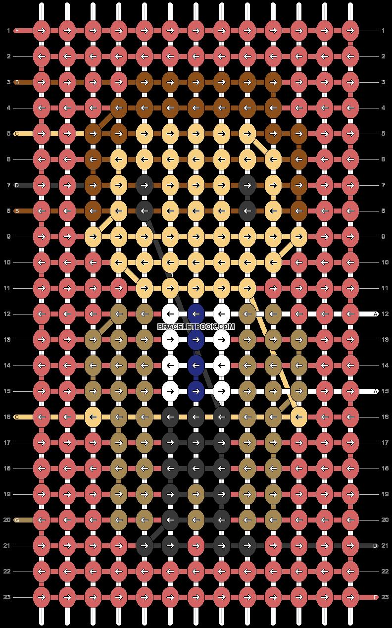 Alpha pattern #30839 pattern