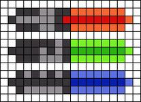 Alpha pattern #30843