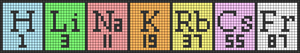 Alpha pattern #30845