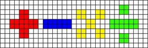 Alpha pattern #30856