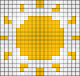 Alpha pattern #30876