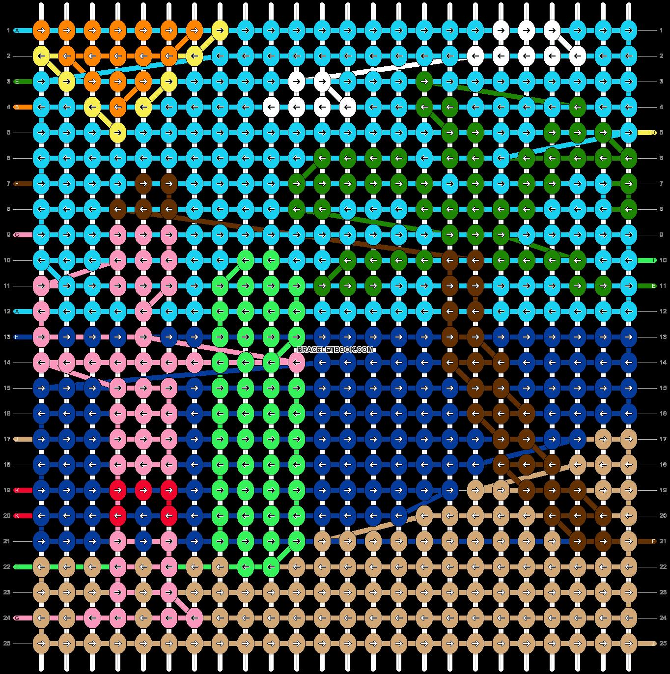 Alpha pattern #30887 pattern