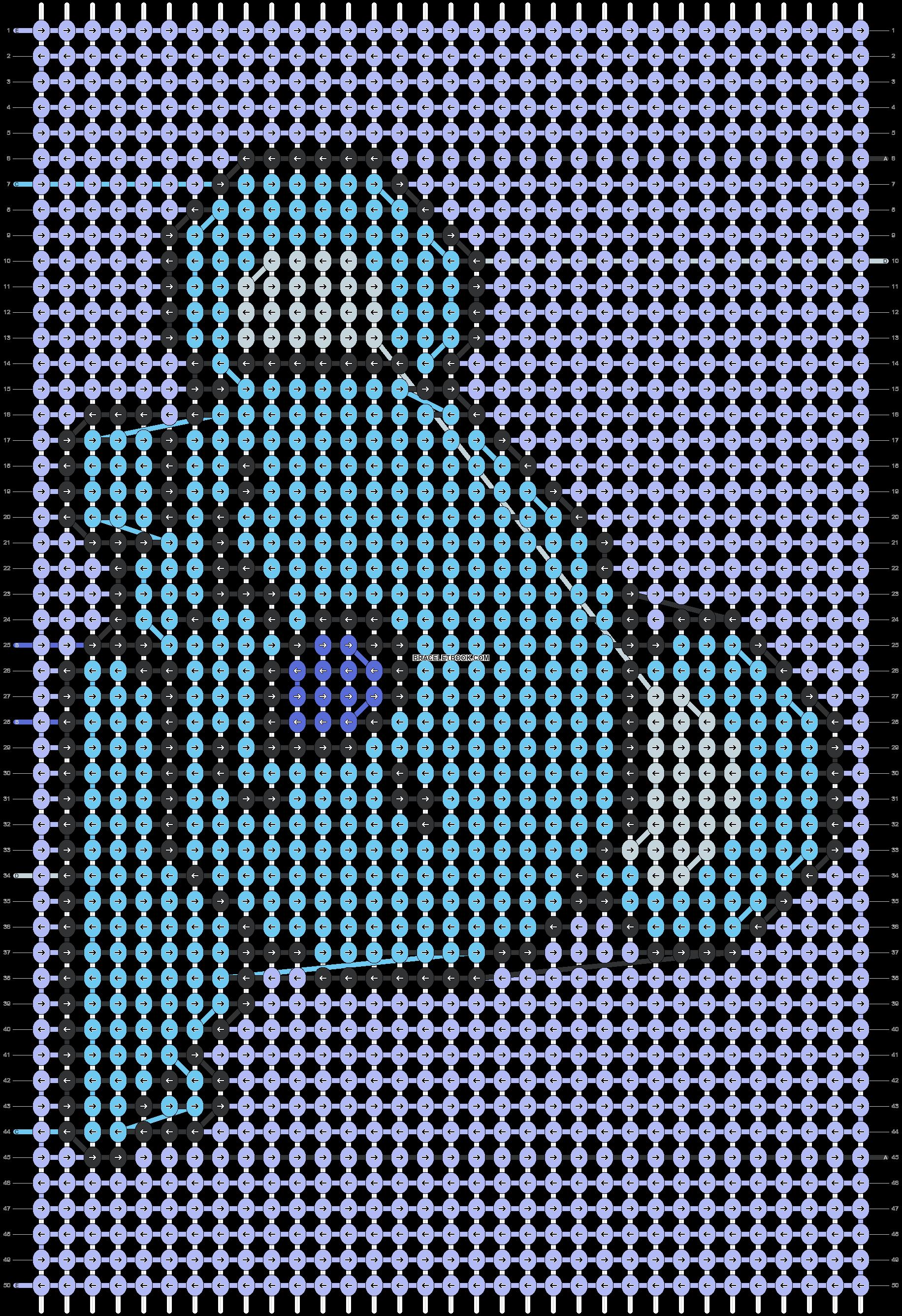 Alpha pattern #30900 pattern
