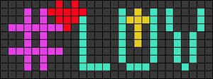 Alpha pattern #30906