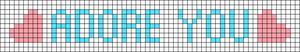Alpha pattern #30917