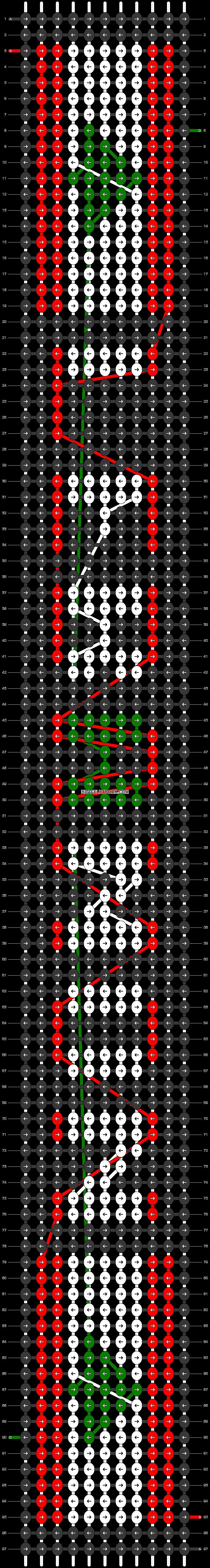 Alpha pattern #30922 pattern