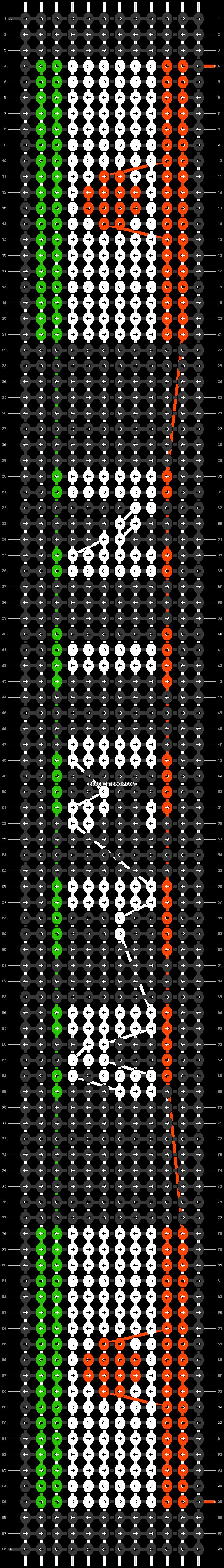 Alpha pattern #30926 pattern