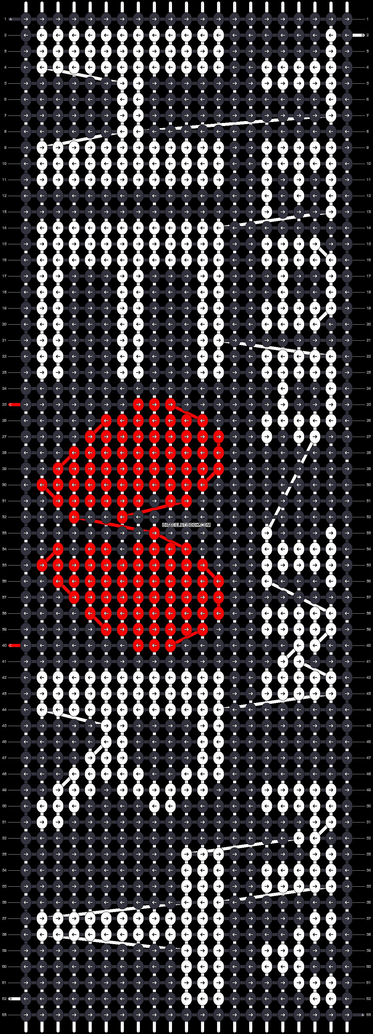 Alpha pattern #30956 pattern