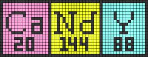 Alpha pattern #30986