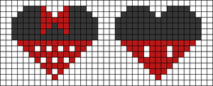 Alpha pattern #30987