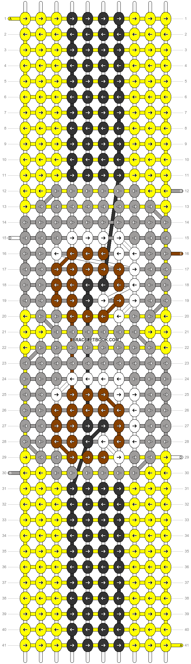 Alpha pattern #31013 pattern
