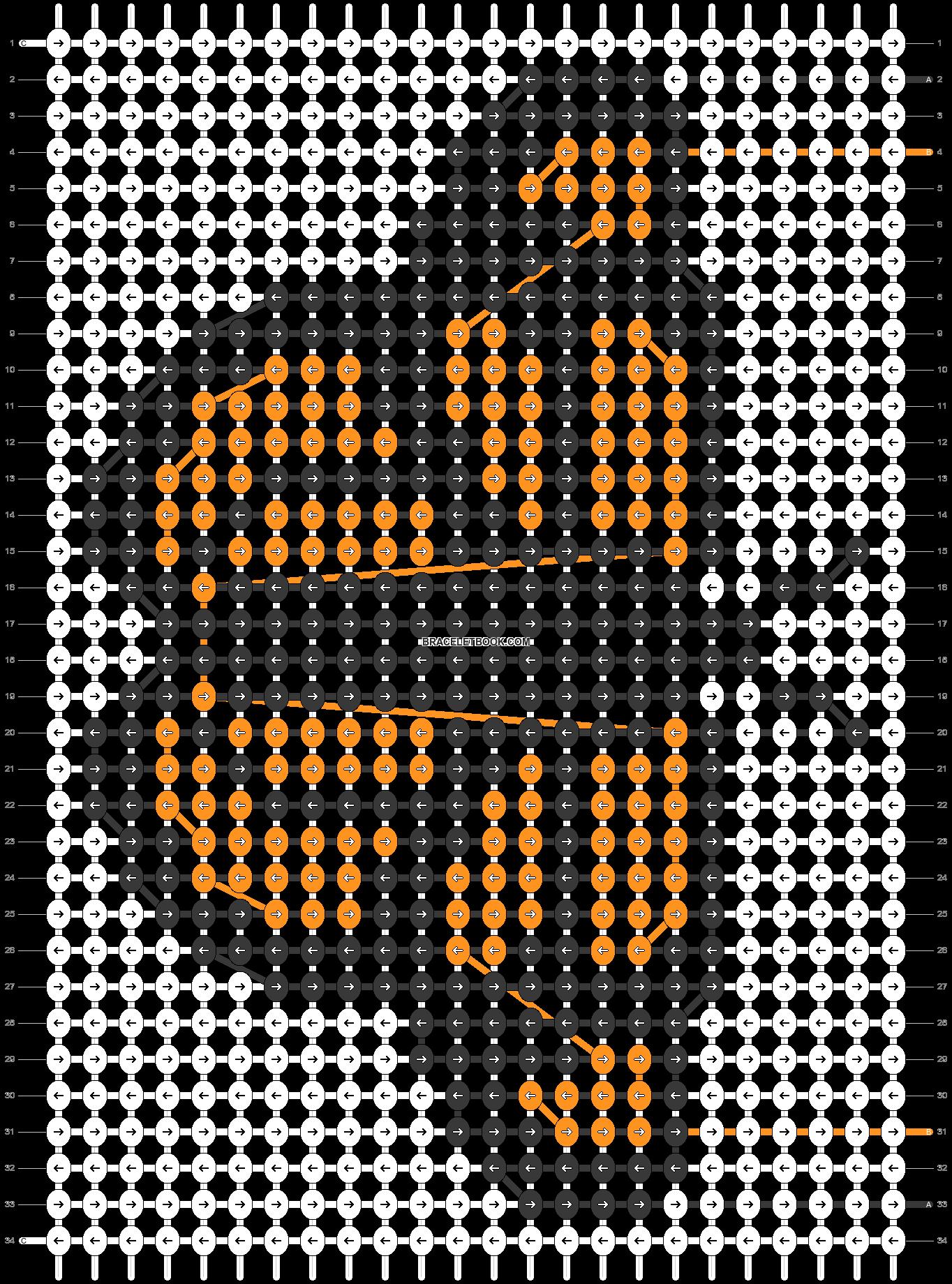Alpha pattern #31015 pattern