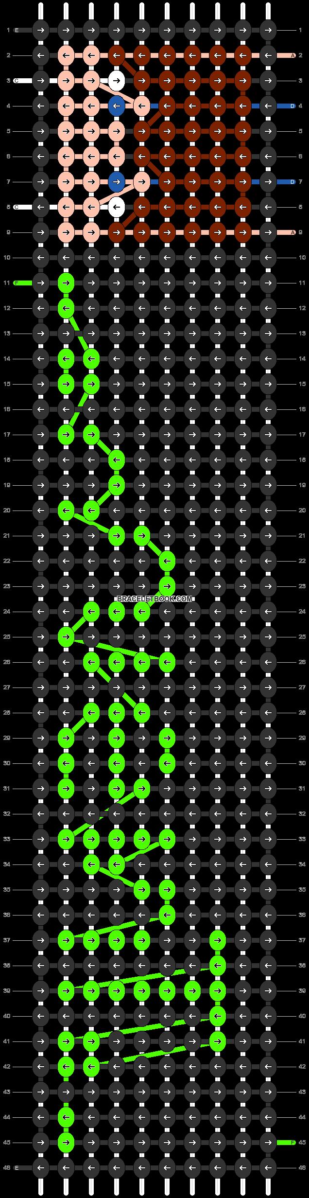 Alpha pattern #31021 pattern