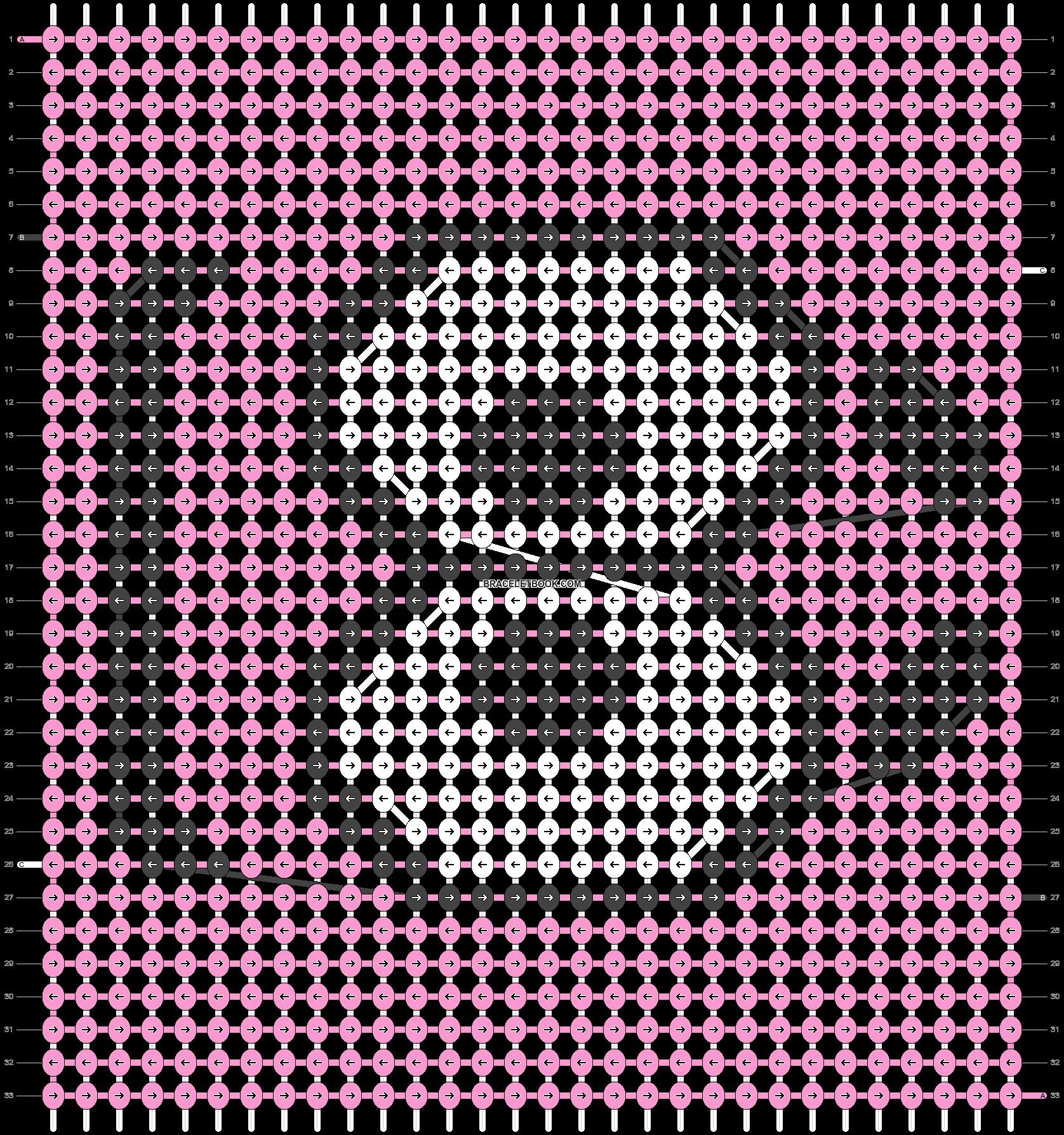 Alpha pattern #31044 pattern