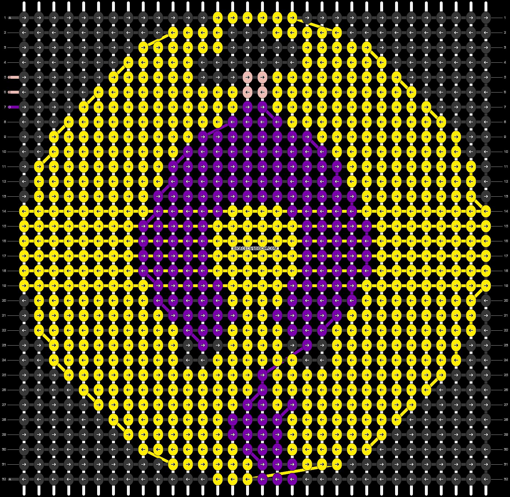 Alpha pattern #31053 pattern