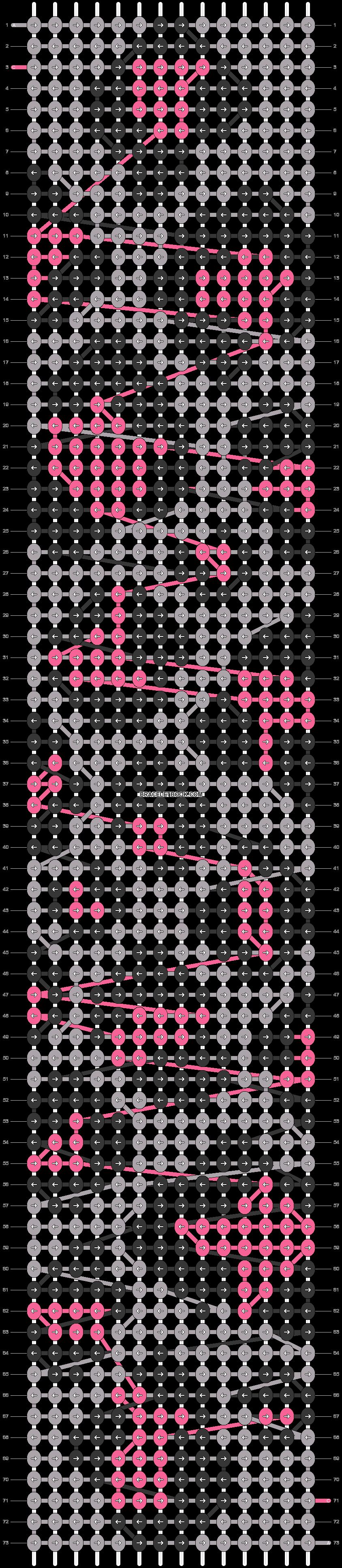 Alpha pattern #31062 pattern