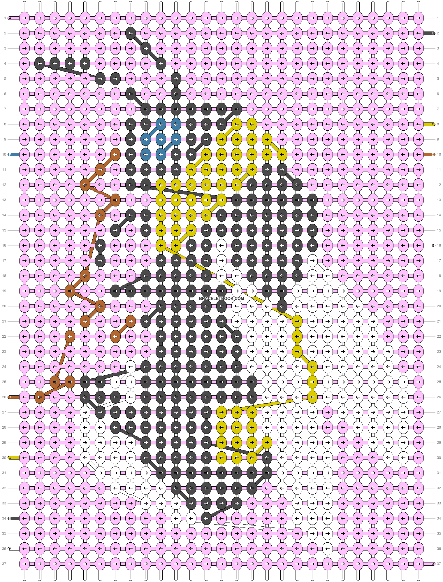 Alpha pattern #31081 pattern