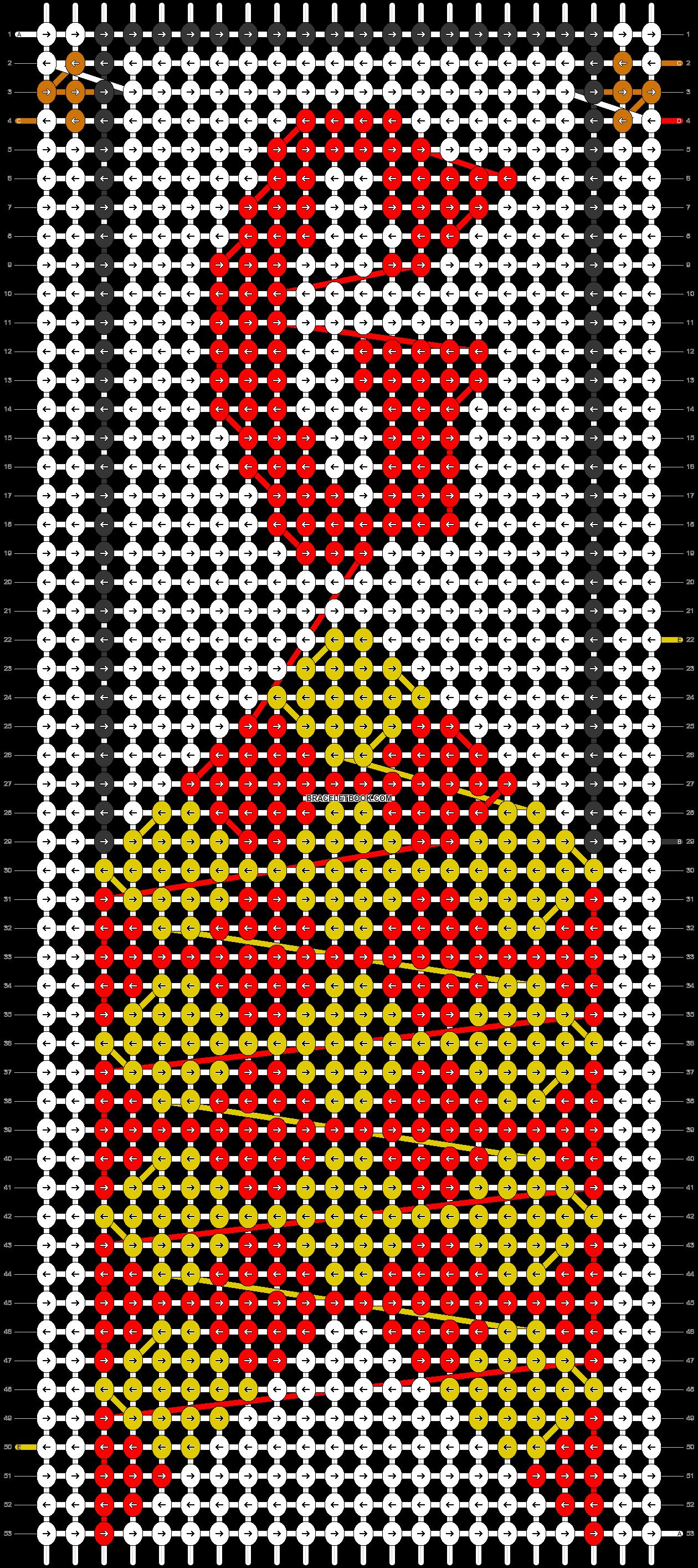 Alpha pattern #31106 pattern